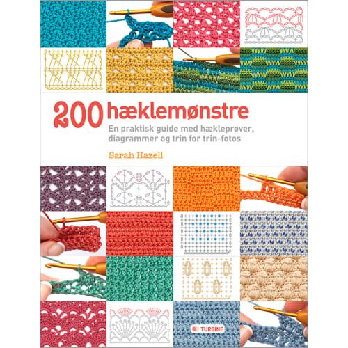 200 hæklemønstre - Hæftet