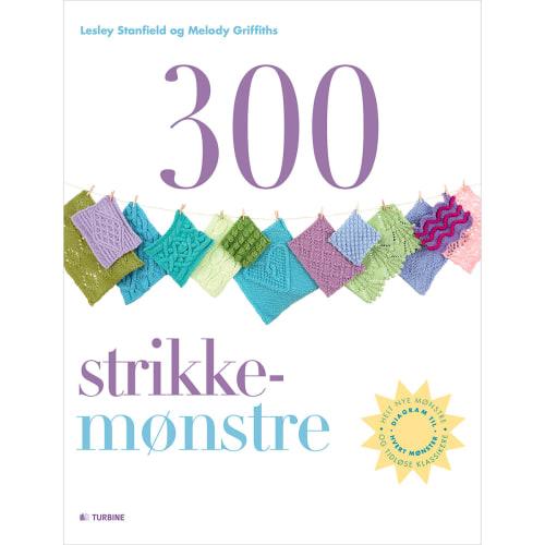 300 strikkemønstre - Paperback