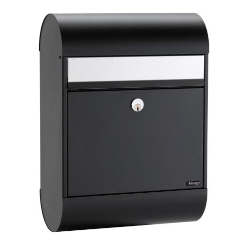 Allux Postkasse - 6000 - Sort/stål