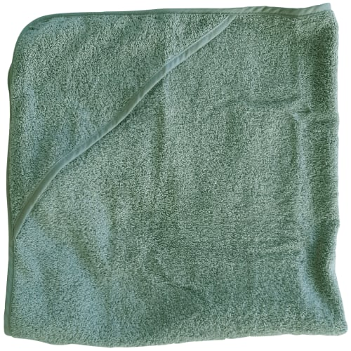 Baby Dan babyhåndklæde – Dusty green