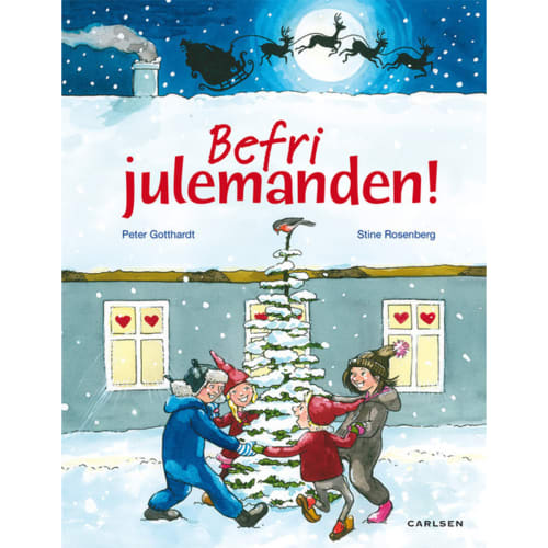 Befri julemanden - Hardback