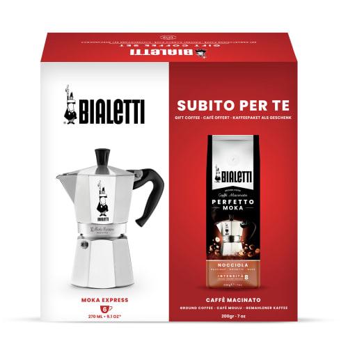 Billede af Bialetti gavesæt - Moka Express - 6 kopper