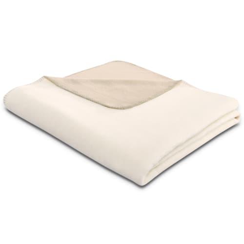 Biederlack Duo Cotton Creme/beige