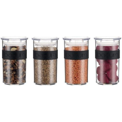BODUM PRESSO Storage Jar 0.25 L 4 Pcs