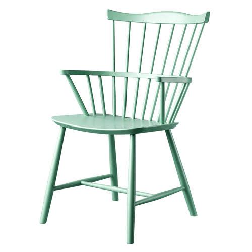 Børge Mogensen stol - J52B - Støvet grøn