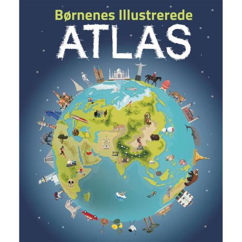 Børnenes illustrerede atlas - Indbundet
