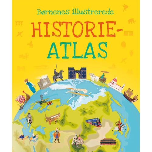 Børnenes illustrerede historie atlas - Indbundet