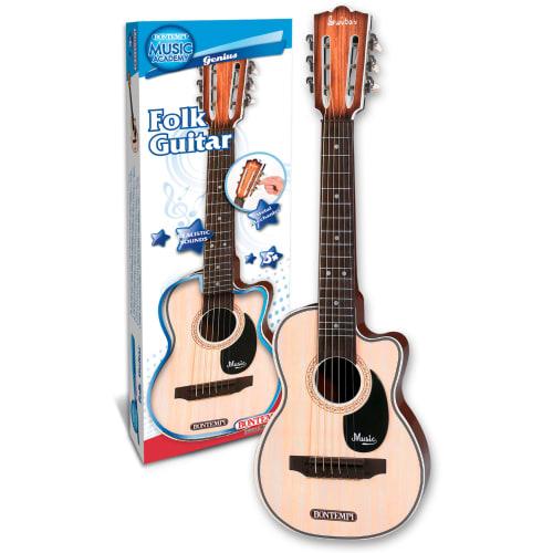 Bontempi BONTEMPI207010 Spanish Guitar With Woodgrained Finish