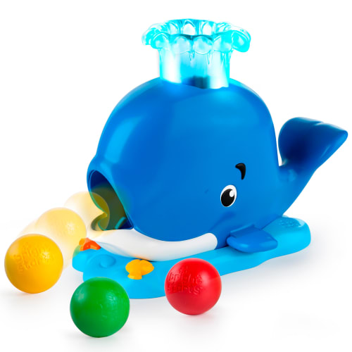 Bright Starts puttekasse - Silly Spout Whale Popper