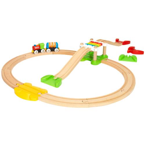BRIO togbanesæt - Mit første togsæt