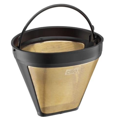 Cilio kaffefilter - C116007 - Str. 4 - Guld