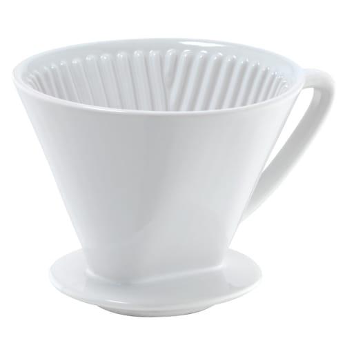 Billede af Cilio kaffetragt i porcelæn - Hvid