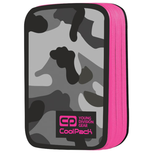 CoolPack Med 2 Rum Fitt Camo Pink/camouflage