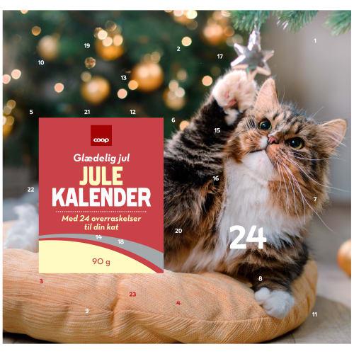 Coop julekalender til kat