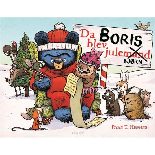 Da Boris blev julebjørn - Bjørnen Boris 4 - Indbundet