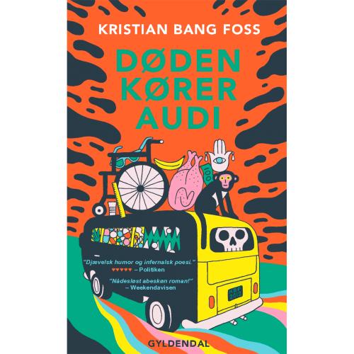 Døden kører Audi - Paperback
