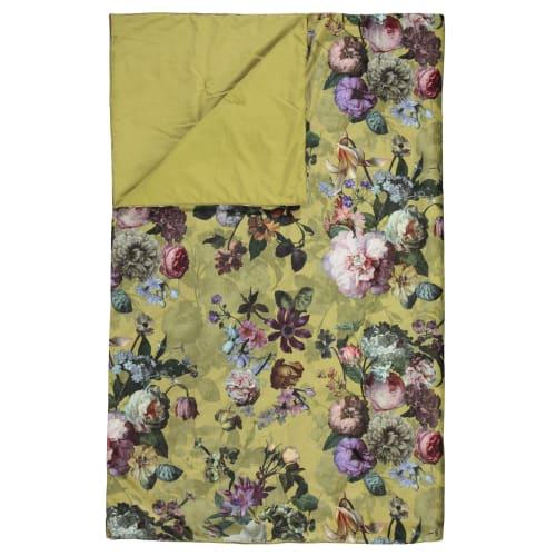 Billede af Essenza sengetæppe - Fleur - Golden gul