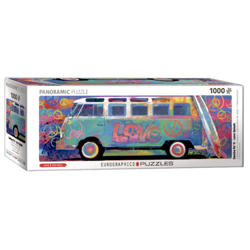 Eurographics puslespil - VW love bus
