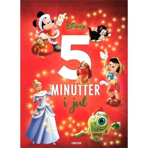 Fem minutter i jul - Disney - Fem minutter i godnat - Indbundet