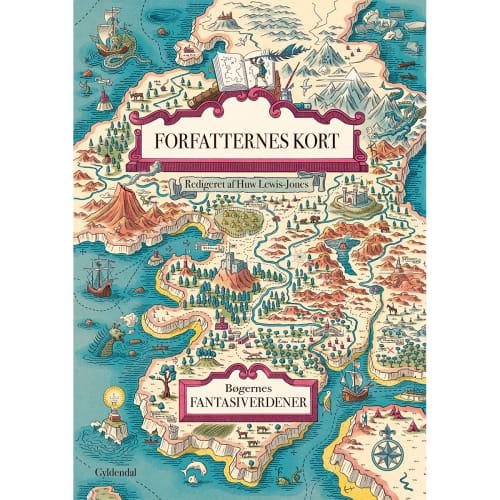 Forfatternes kort - Atlas over litteraturens fiktive riger - Indbundet