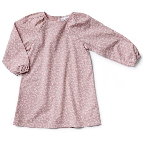 Friends kjole - Lilla med print
