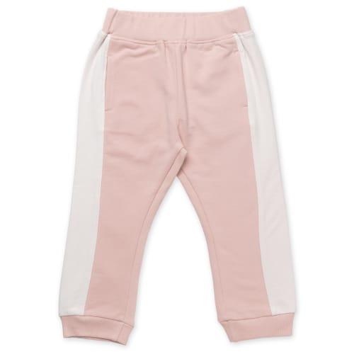 Friends sweatpants - Rosa med hvid stribe