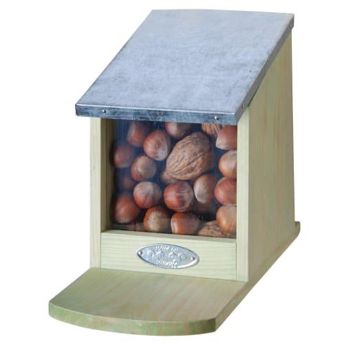 Gardenlife foderstation til egern - Wild - Træ