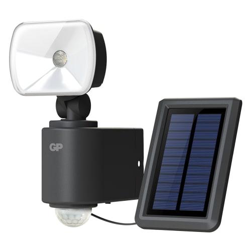Køb GP Safeguard udendørssensorlampe med solcelle – RF 3.1H
