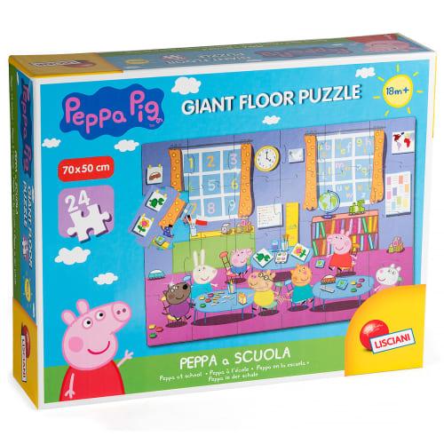 Lisciani-Spiele Peppa Peppa Wutz Großer Boden Peppa In Der Schule 3 3