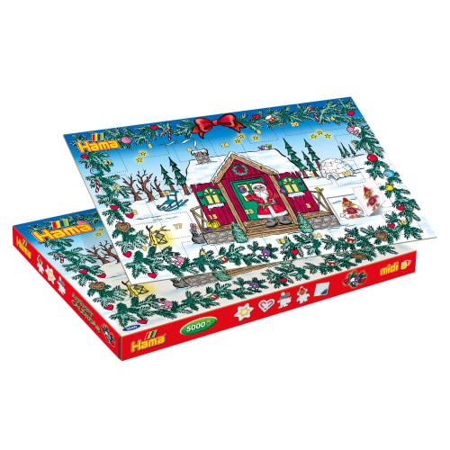 Hama Midi perlesæt - Julekalender - 5.000 stk.