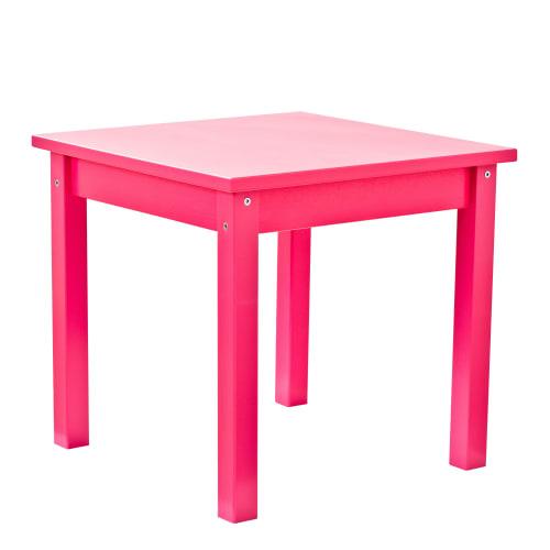 Hoppekids børnebord – Mads – Pink