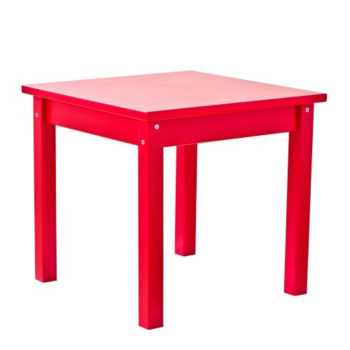 Hoppekids børnebord – Mads – Rød