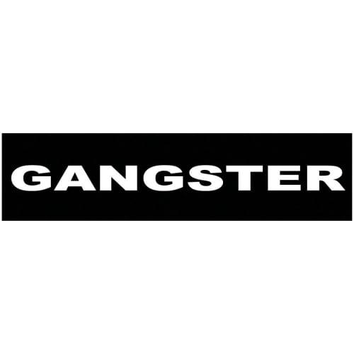 Julius-K9 mærkat til sele - Gangster - 2 stk.