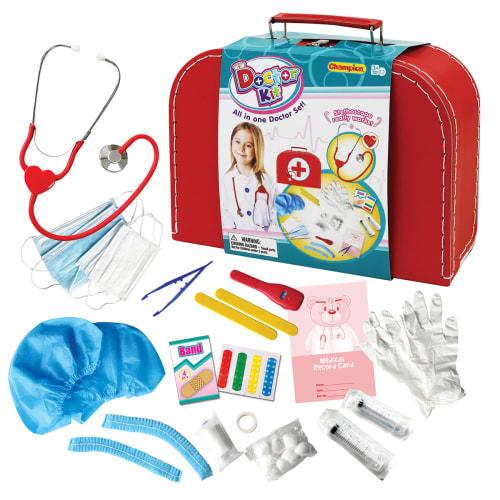 Lægesæt I Rød Kuffert