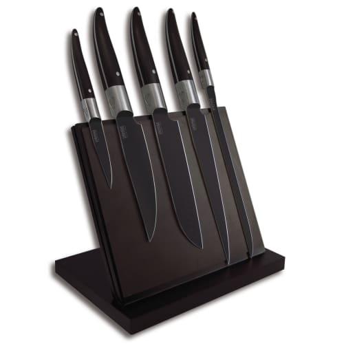 Billede af Laguiole Heritage knivsæt med knivblok - Evolution