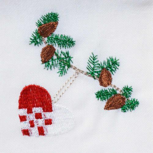 Langkilde & Søn juleserviet med julehjerte
