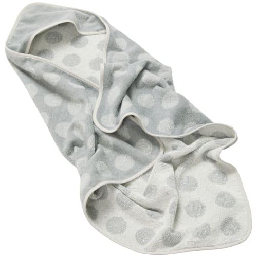 Leander babyhåndklæde – Matty Hoodie – Cool grey