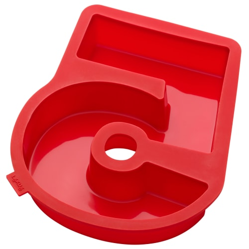 Lékué nummerkageform – Nr. 5
