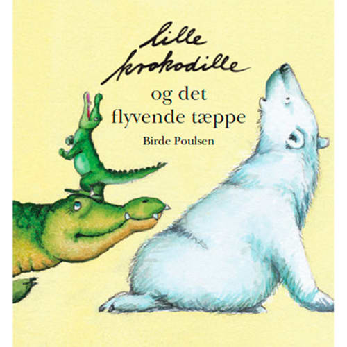 Lille krokodille og det flyvende tæppe - Indbundet
