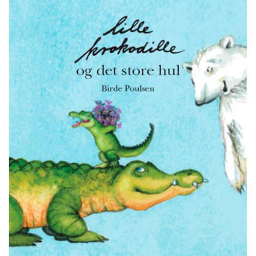 Lille krokodille og det store hul - Indbundet