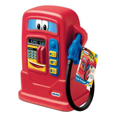 Little Tikes benzinstander - Rød