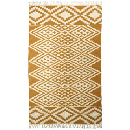 Living&more gulvtæppe - Kelim - Aztec