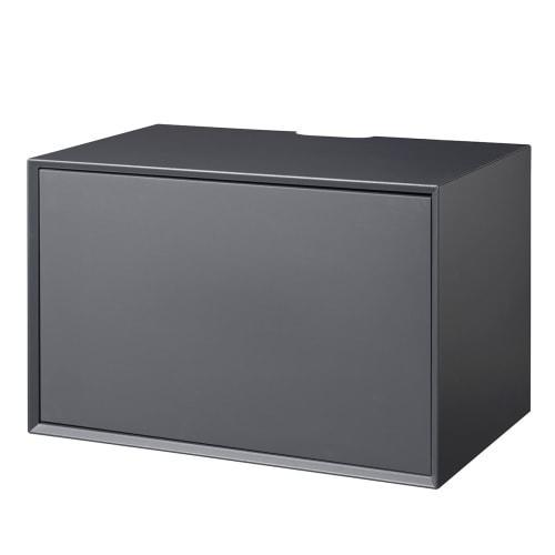 Living&more Hi-Fi Skab - The Box - 37 X 58 X 34 Cm - Antracit