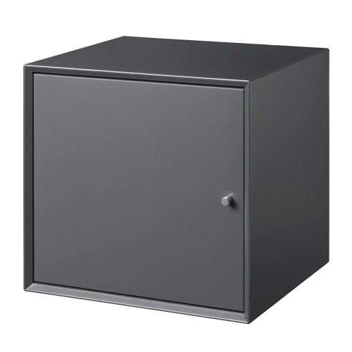 Living&more Skab - The Box - 37 X 39,4 X 34 Cm - Antracit