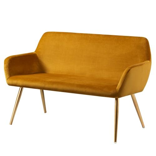 Living&more sofa - Emma - Mustard
