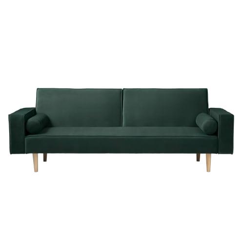 Living&more sovesofa - Lucy - Mørkegrøn