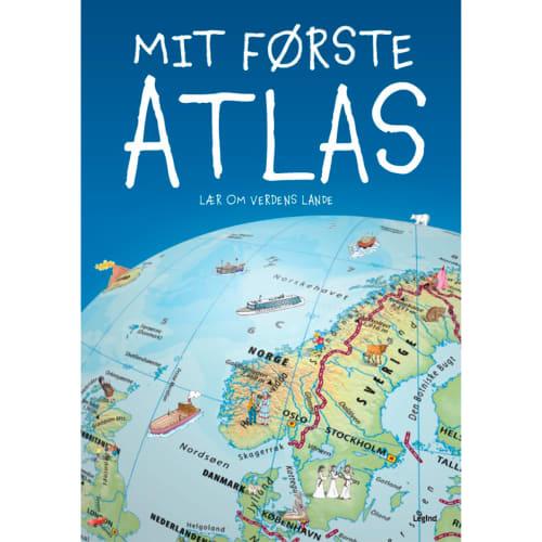 Mit første atlas - Indbundet
