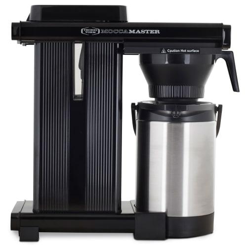 Moccamaster kaffemaskine - Catering Thermoserver - Black Silver