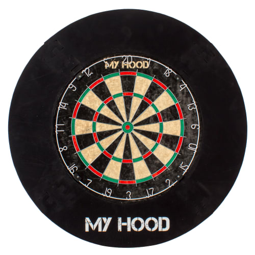 Billede af My Hood dartskive med beskyttelsesring - Tournament Set