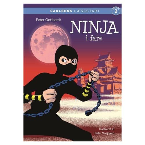 Ninja i fare - Carlsens læsestart - Indbundet